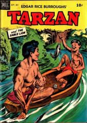 Tarzan (Dell - 1948) -11- Tarzan and the Sable Lion