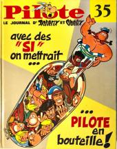 (Recueil) Pilote (Album du journal - Édition française cartonnée) -35- Reliure n°35