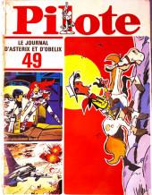 (Recueil) Pilote (Album du journal - Édition française cartonnée) -49- Reliure n°49