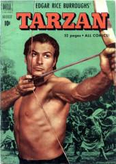 Tarzan (Dell - 1948) -23- (sans titre)