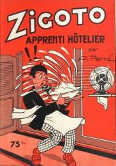 Zigoto -13- Zigoto apprenti-hôtelier