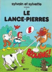 Sylvain et Sylvette -3a1983- Le lance-pierres