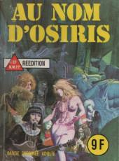 Les grands classiques de l'épouvante -62- Au nom d'Osiris