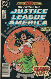 Justice League of America (1960) -259- The End of the Justice League of America, Part Two of Four: Killer's Kiss!