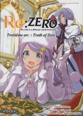 Re:Zero (Re : Life in a different world from zero) -34- Troisième arc : Truth of Zero