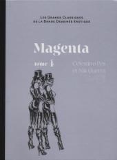 Les grands Classiques de la Bande Dessinée érotique - La Collection -7955- Magenta - Tome 4