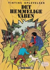 Tintin (en langues étrangères) -18Danois- Det Hemmelige Vaben