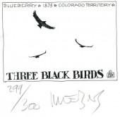 (AUT) Giraud / Moebius - Three black birds