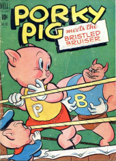Four Color Comics (Dell - 1942) -330- Porky Pig Meets the Bristled Bruiser
