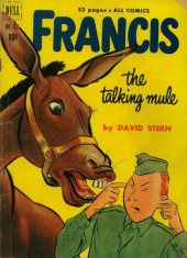 Four Color Comics (Dell - 1942) -335- Francis the Talking Mule