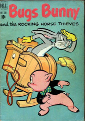 Four Color Comics (Dell - 1942) -338- Bugs Bunny and The Rocking Horse Thieves