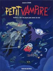 Petit vampire (Rue de Sèvres) -3- On ne joue pas avec la vie