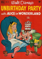Four Color Comics (Dell - 1942) -341- Unbirthday Party with Alice in Wonderland