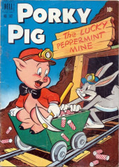 Four Color Comics (Dell - 1942) -342- Porky Pig in The Lucky Peppermint Mine