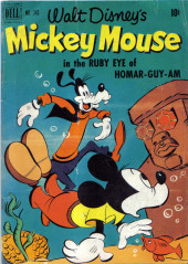 Four Color Comics (Dell - 1942) -343- Mickey Mouse in The Ruby Eye of Homar-guy-am