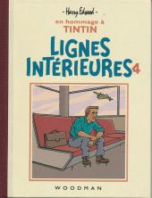 Tintin - Pastiches, parodies & pirates - Lignes Intérieures 4