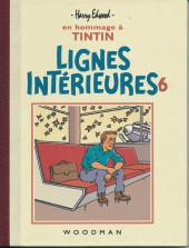 Tintin - Pastiches, parodies & pirates - Lignes Intérieures 6