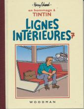 Tintin - Pastiches, parodies & pirates - Lignes Intérieures 7