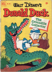 Four Color Comics (Dell - 1942) -348- Donald Duck The Crocodile Collector