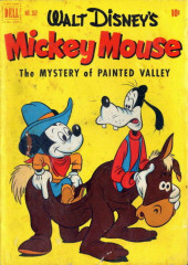 Four Color Comics (Dell - 1942) -352- Mickey Mouse in The Mystery of Painted Valley