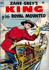 Four Color Comics (Dell - 1942) -363- Zane Grey's King of Royal Mounted