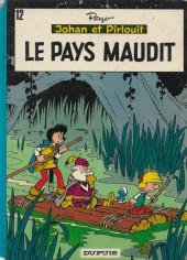 Johan et Pirlouit -12b1978- Le pays maudit