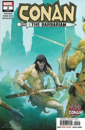 Conan the Barbarian Vol 3 (Marvel - 2019) -2A- The Life & Death of Conan: part two - The Savage Border