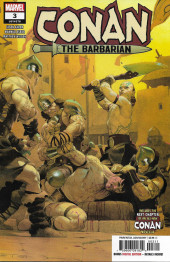 Couverture de Conan the Barbarian Vol 3 (Marvel - 2019) -3A- The Life & Death of Conan: part three - Cimmerians Don't Pray