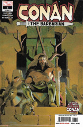 Conan the Barbarian Vol 3 (Marvel - 2019) -4A- The Life & Death of Conan: part four - The King in The Cage