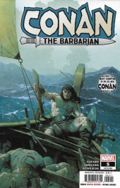 Conan the Barbarian Vol 3 (Marvel - 2019) -5A- The Life & Death of Conan: part five - The Captain of the Ship of the Dead