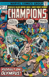 Champions (The) (1975) -3- Assault on Olympus!