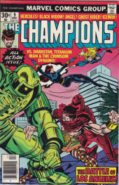 Champions (The) (1975) -9- The Battle of Los Angeles!