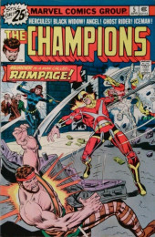 Champions (The) (1975) -5- Murder Is a Man Called...Rampage!