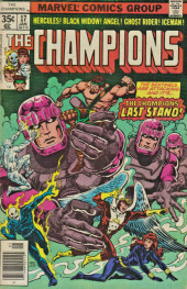 Champions (The) (1975) -17- Carnage in the Capital!