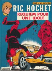 Ric Hochet -16b80- Requiem pour une idole