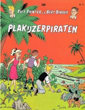 Piet Pienter en Bert Bibber -4a87- Plakijzerpiraten