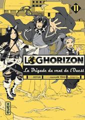 Log Horizon - La brigade du vent de l'ouest -11- Tome 11