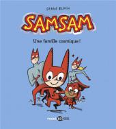 SamSam (2e Série) -1- Une famille cosmique !