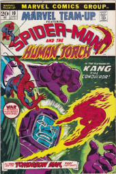 Marvel Team-Up Vol.1 (Marvel comics - 1972) -10- In the Clutches of Kang the Conquerer!