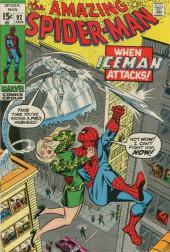 Amazing Spider-Man (The) Vol.1 (Marvel comics - 1963) -92- When Iceman Attacks!