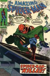 Amazing Spider-Man (The) Vol.1 (Marvel comics - 1963) -90- Spider-Man -- the Killer!