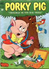 Four Color Comics (Dell - 1942) -370- Porky Pig: Trouble in the Big Trees