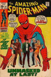 Amazing Spider-Man (The) (1963) -87- Unmasked at Last!