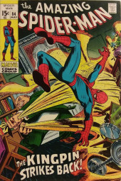 Amazing Spider-Man (The) (1963) -84- The Kingpin Strikes Back!