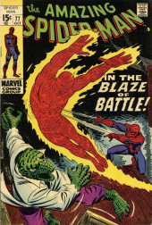 Amazing Spider-Man (The) (1963) -77- In the Blaze of Battle!