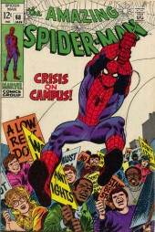 Amazing Spider-Man (The) (1963) -68- Crisis on Campus!