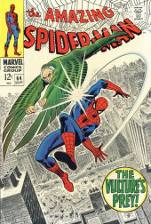 Amazing Spider-Man (The) (1963) -64- The Vulture's Prey!