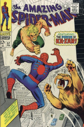 Amazing Spider-Man (The) (1963) -57- The Power of Ka-Zar!