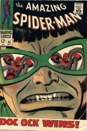 Amazing Spider-Man (The) Vol.1 (Marvel comics - 1963) -55- Doc Ock Wins!