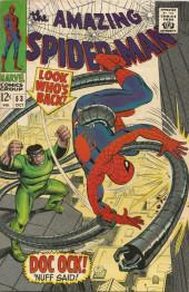 Amazing Spider-Man (The) Vol.1 (Marvel comics - 1963) -53- Doc OCK! 'Nuff sad!